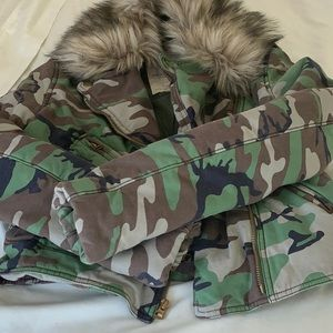 Ralph Lauren Denim & Supply Camo Jacket/Coat